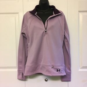 Women's Under Armour Fleece Lined Polyester Top